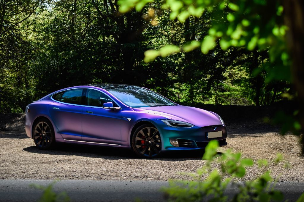 Tesla Model S P100d Wrap V Styling
